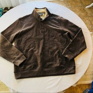 Arrow Pullover Sweatshirt Brown
